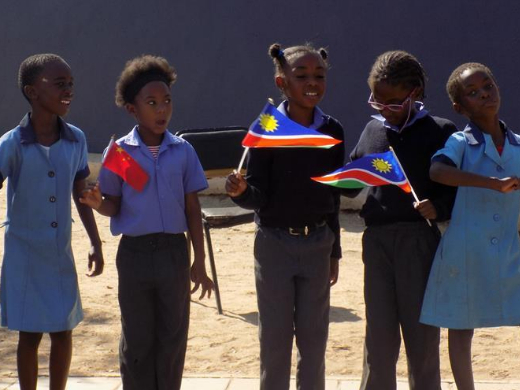 China's Panda Pack Project benefits Namibian learners in need