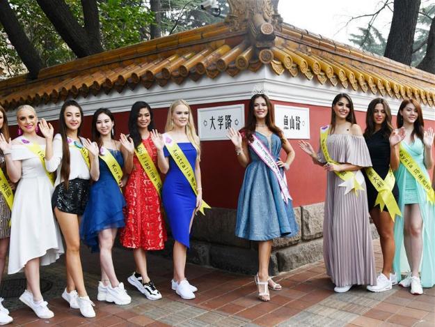 Contestants for Miss Tourism World 2019 Global Finals visit Qingdao
