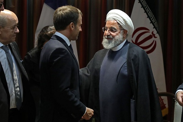 French president urges resumption of Iran nuclear talks