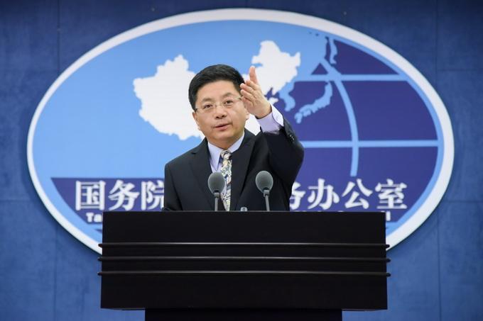 Cross-Strait reunification an irresistible trend: spokesperson