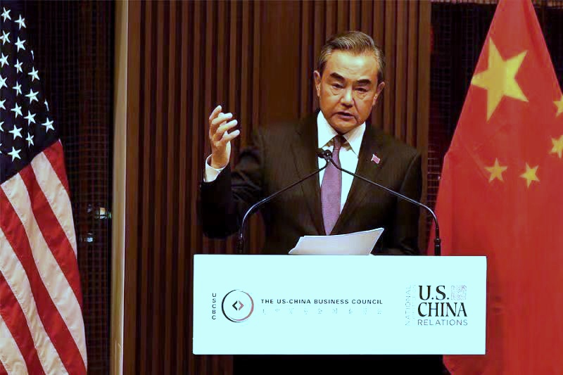 Chinese FM debunks rumors about Xinjiang