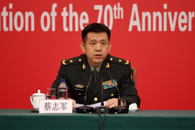 China unveils plan for huge anniversary military parade