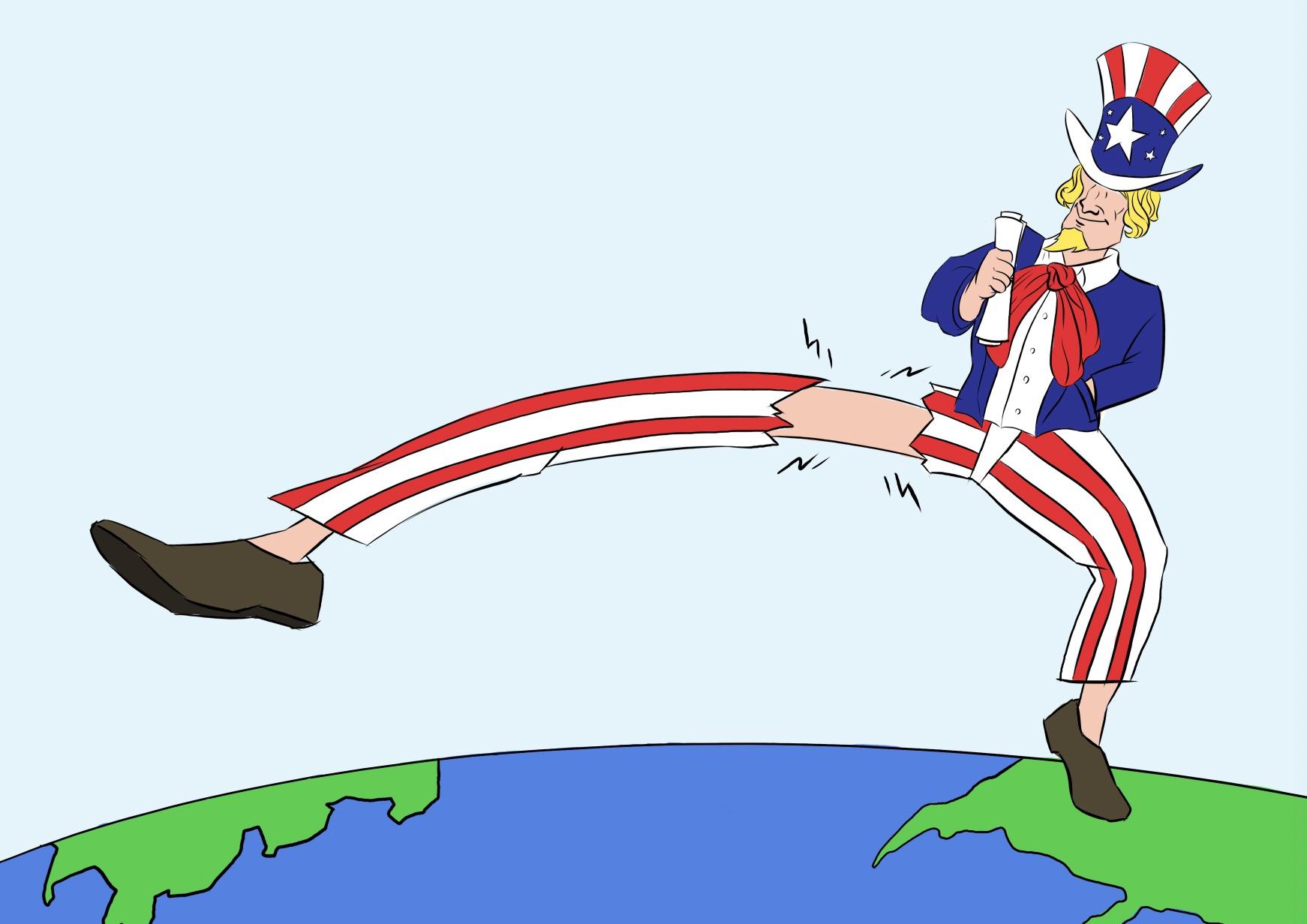 Cartoon: An overreach