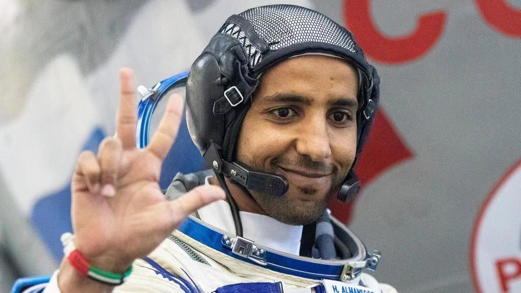 The first Emirati travels into space