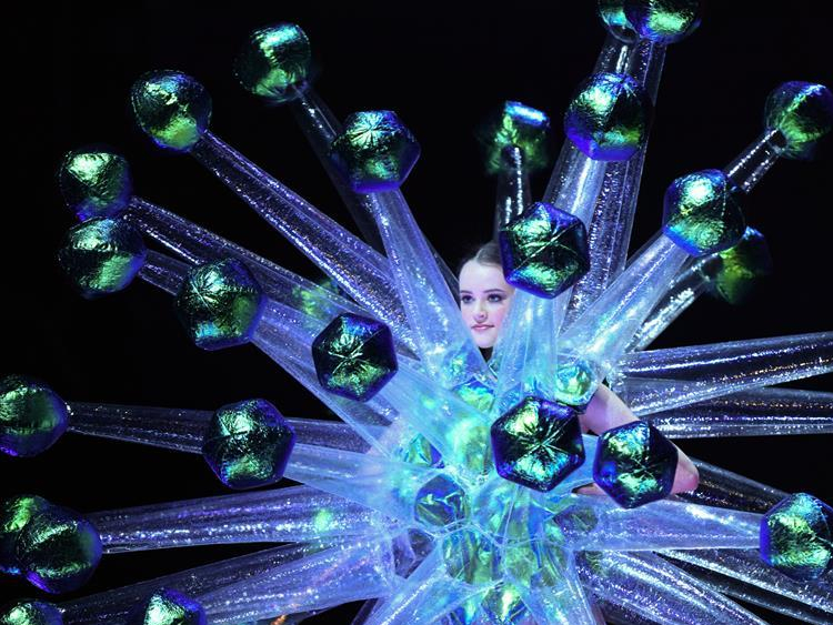 Creations presented during show of World of Wearable Art in New Zealand