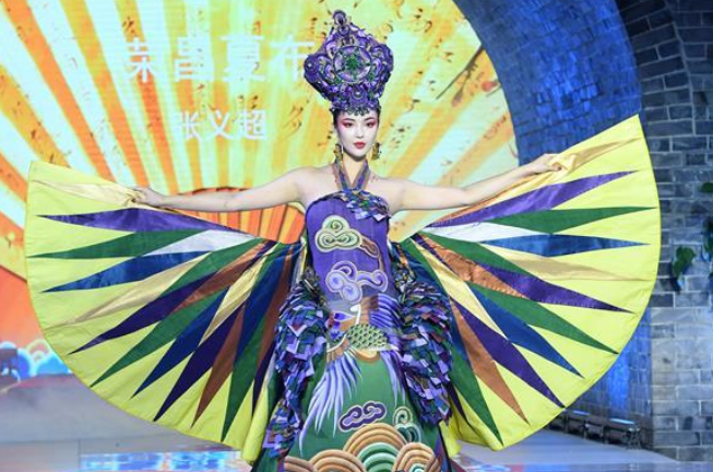 Creation of designer Zhang Yichao presented at China Fashion Week