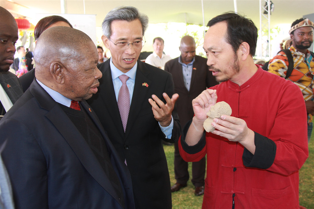 Chinese Embassy in S.Africa holds reception to mark 70th anniversary of PRC's founding