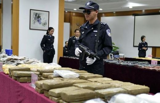 China, US to intensify drug control cooperation