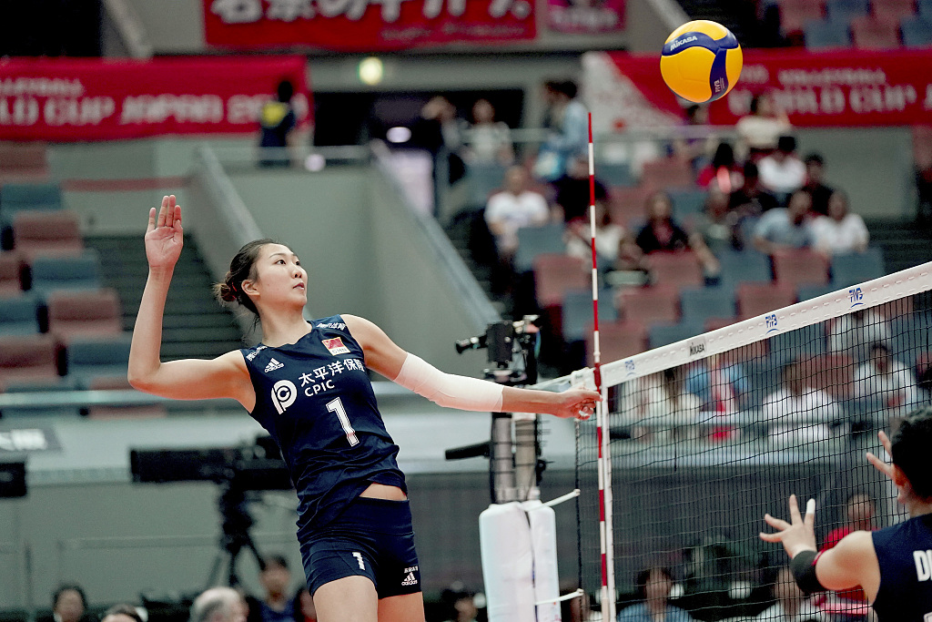 China overcome the Netherlands 3-1 at Women's Volleyball World Cup