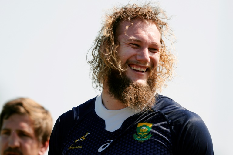 Top of the mops: wacky hair all the rage at Rugby World Cup