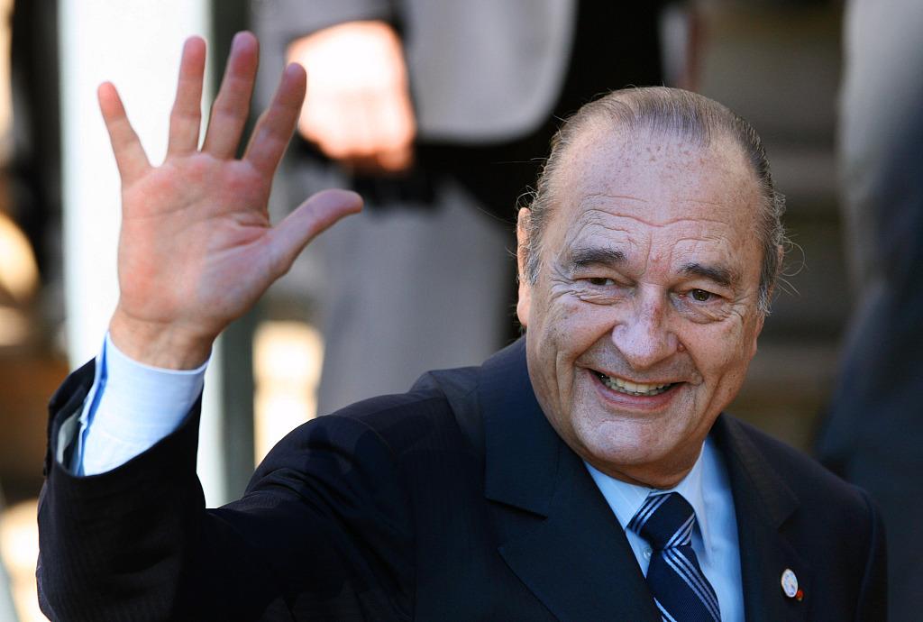 Xi sends condolences to Macron over death of Chirac