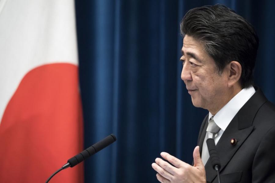 Abe congratulates China on 70th anniversary of PRC founding