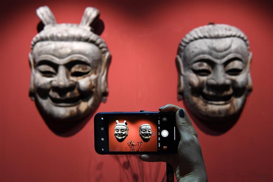 Exhibition on masks kicks off in Nanfeng County, E China's Jiangxi