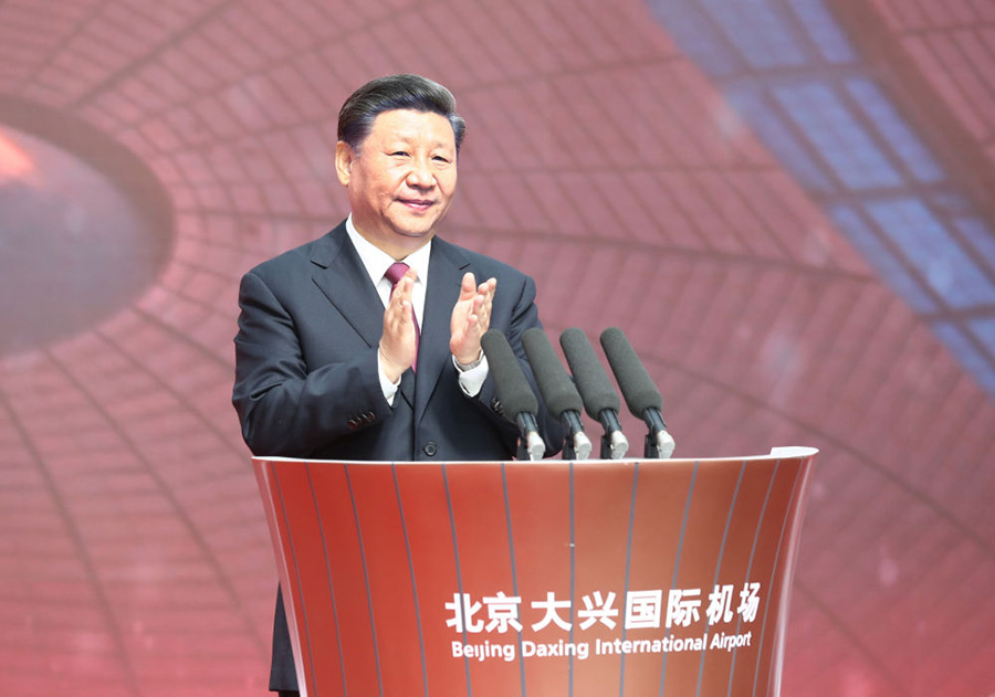President Xi's commitment to infrastructure development