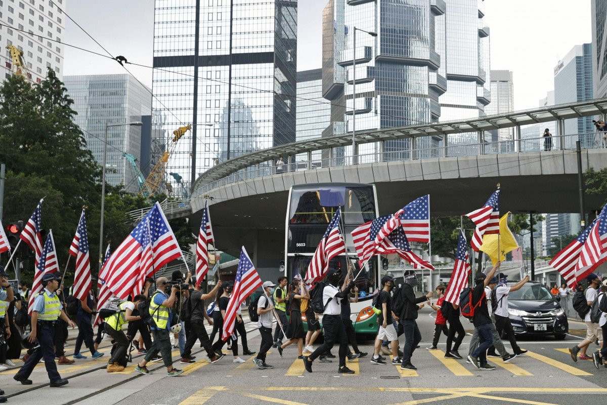 US bill on Hong Kong meddles with China's internal affairs: legal experts