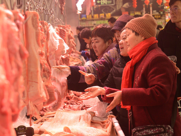 China's pork imports up in August