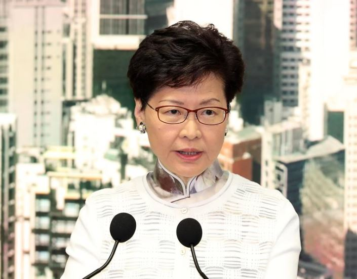HKSAR chief executive says to continue reaching out to people through dialogues
