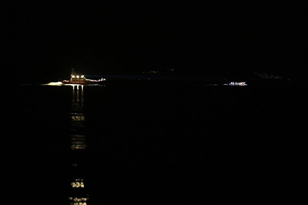 Greece: 7 migrants die when boat sinks in Aegean Sea