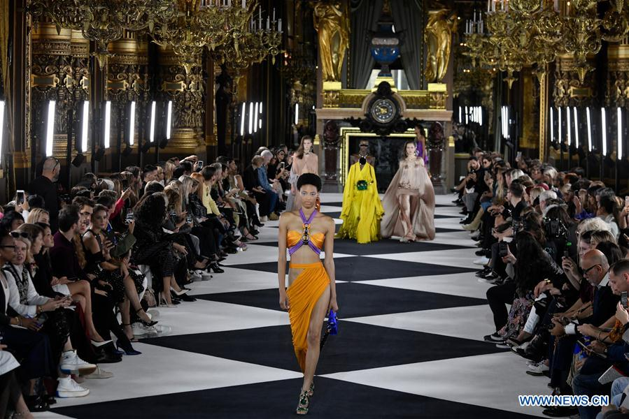 Balmain unveils new women's ready-to-wear collection in Paris
