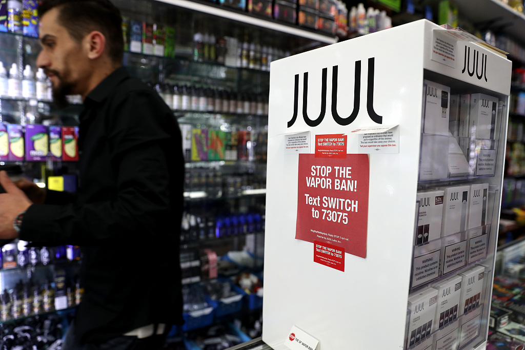 Washington state governor orders ban on flavored vaping products