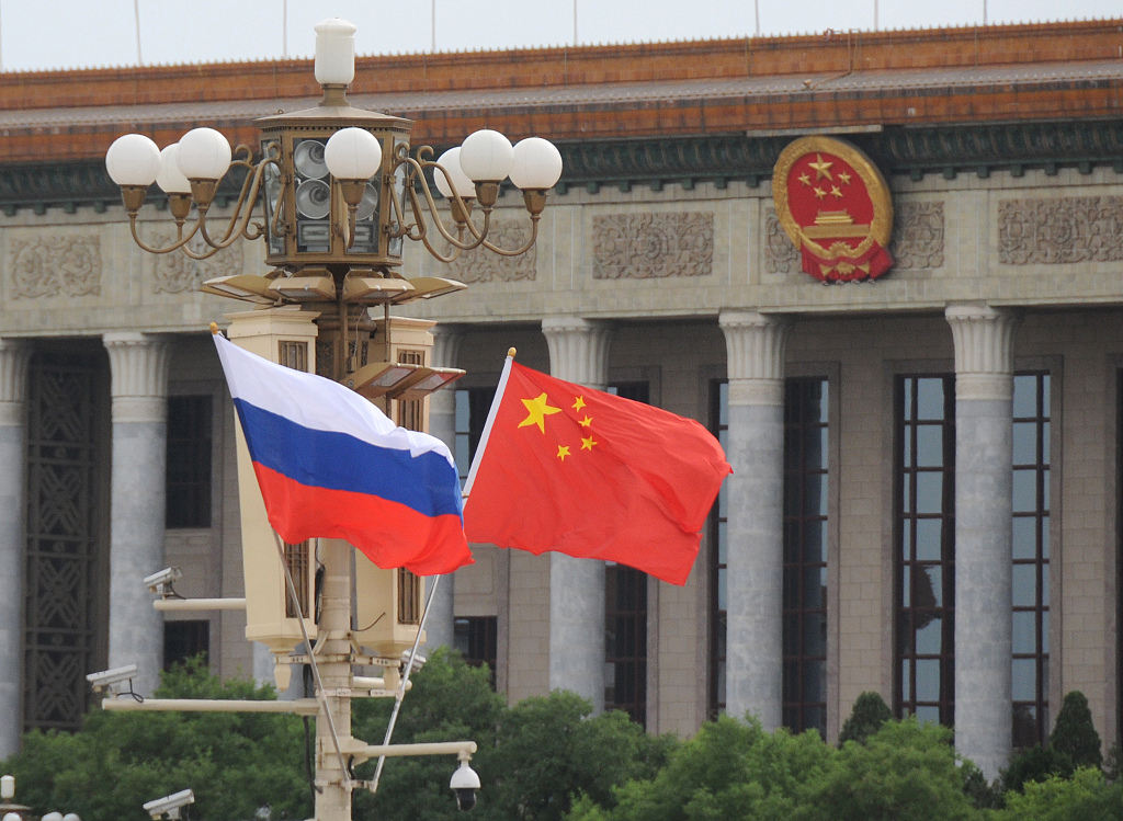 China, Russia pledge to strengthen strategic cooperation