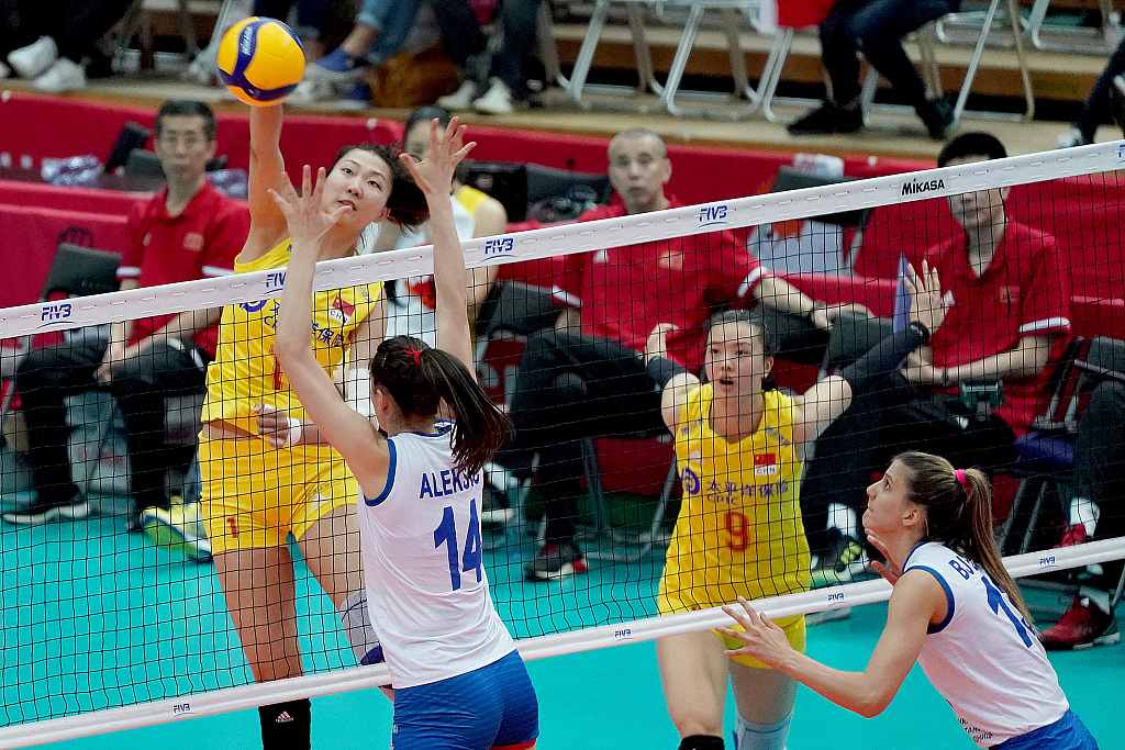 China win Women's Volleyball World Cup title with perfect 10 straight victories