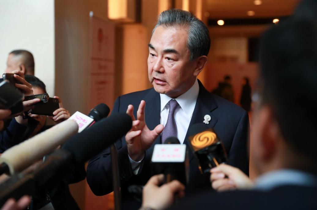 China upholding global peace and justice: Wang Yi