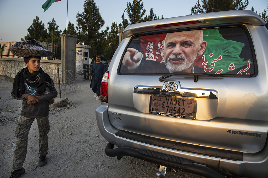 Voting for Afghanistan's presidential election begins
