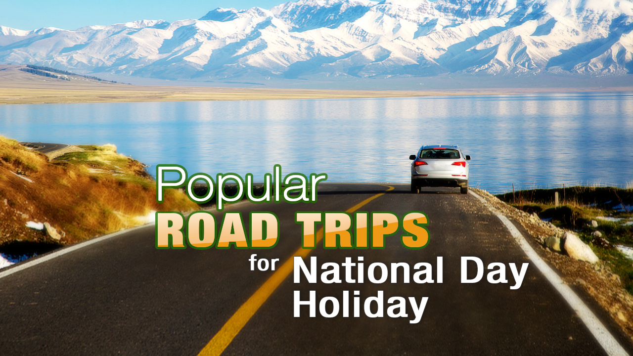 Top three epic road trips for your Golden Week