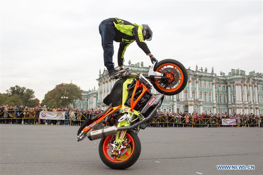 In pics: ending ceremony of Motorcycle Season in St. Petersburg