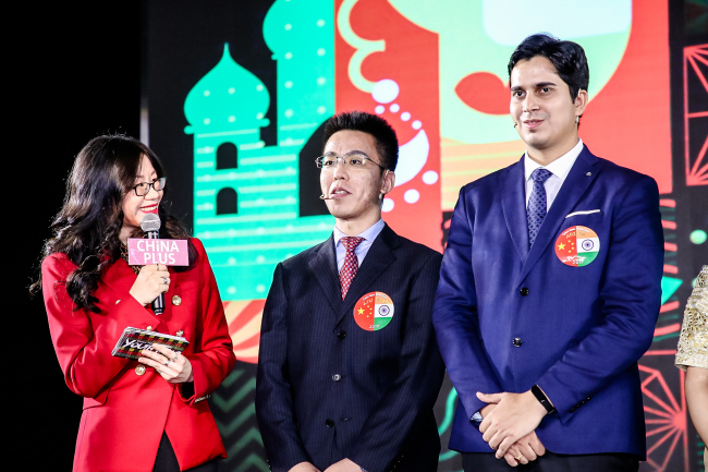 Young people from China and India meet in Beijing to talk ties