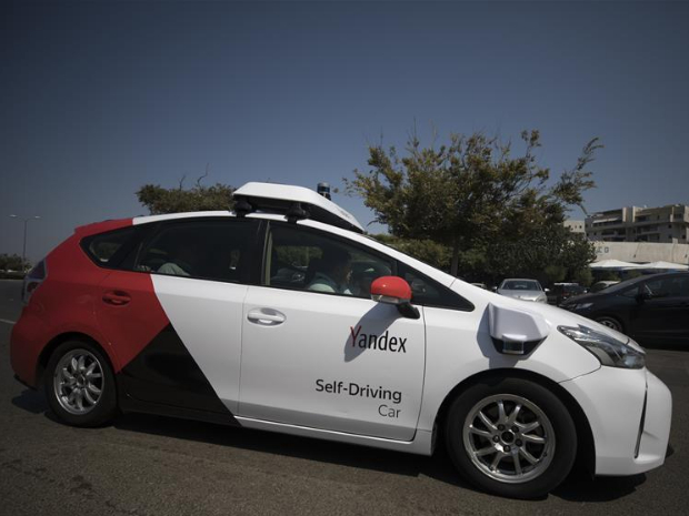 Russian tech giant Yandex tests self-driving cars on Tel Aviv streets