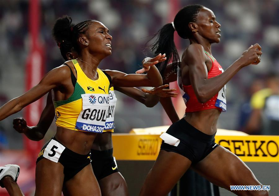 In pics: women's 800m semifinal at 2019 IAAF World Championships