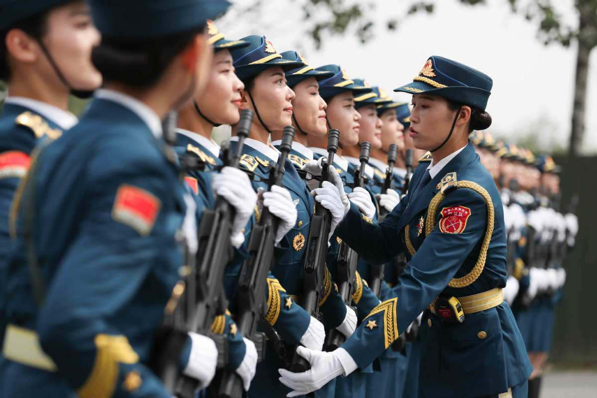 National Day parade to showcase China's military power