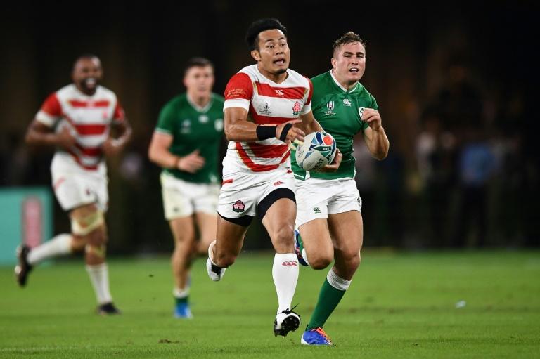 Japan buzzing after Ireland ambush at Rugby World Cup