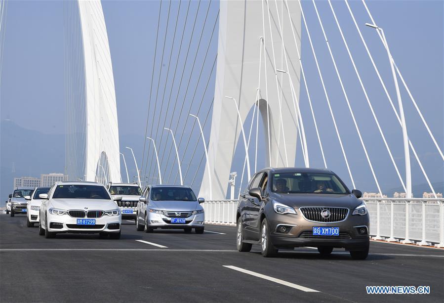 New bridge opens to extend Beijing's iconic avenue