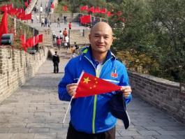 Hong Kong police visit Beijing for anniversary