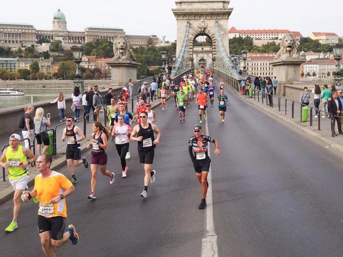 34th Budapest Marathon held in Hungary