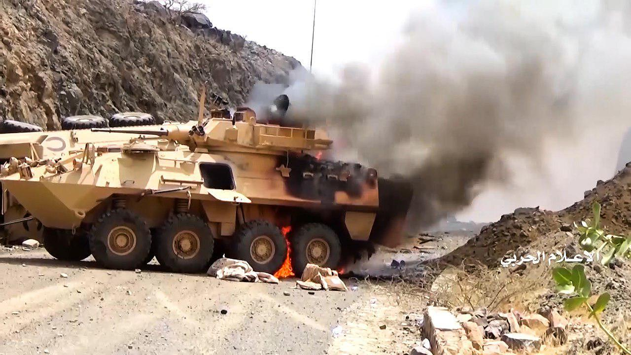 Yemen's Houthi footage show capture of over 2,000 coalition soldiers in Saudi Najran front