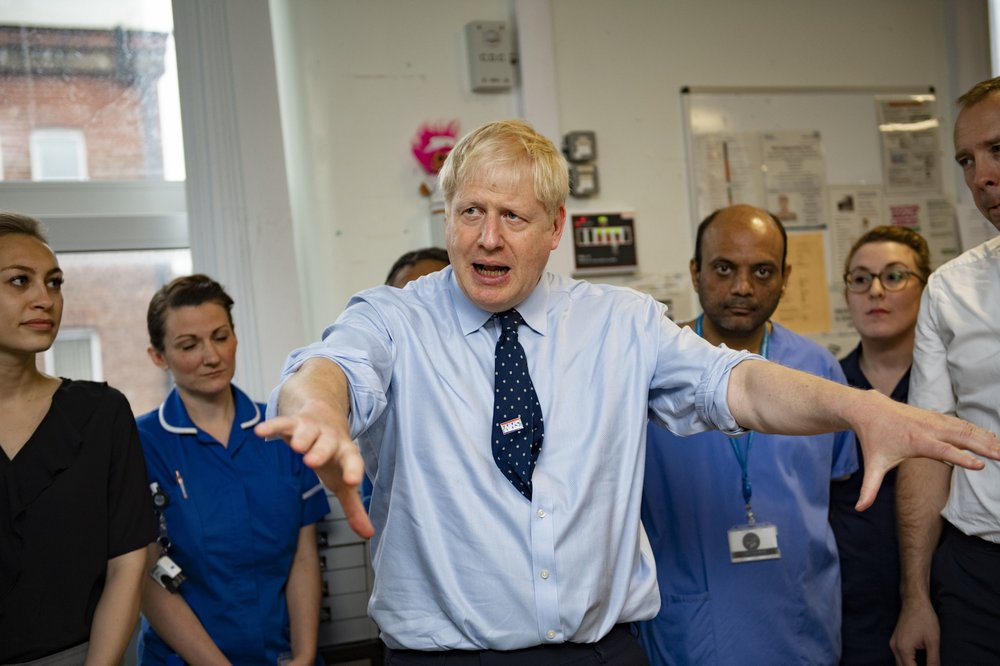 UK's Johnson denies any wrongdoing in ties with US tech exec
