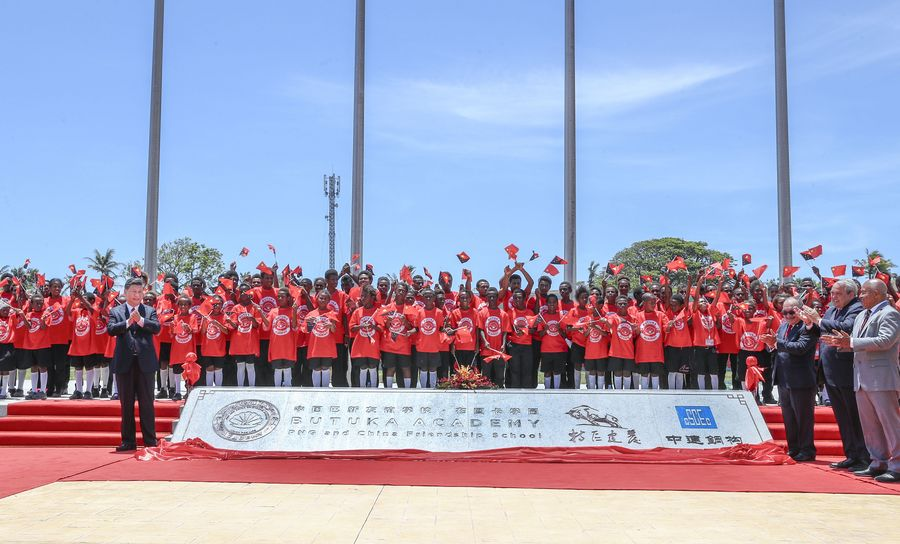 Xi urges Chinese, PNG youth to help promote bilateral ties