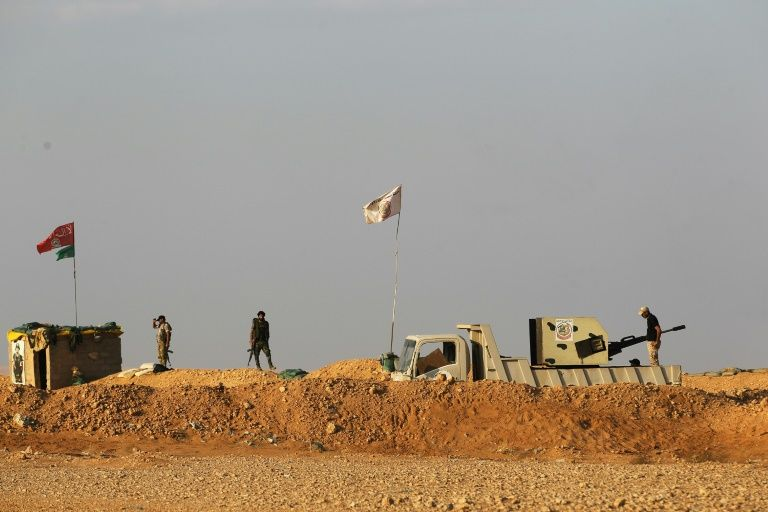 Iraq, Syria reopen major border crossing retaken from IS