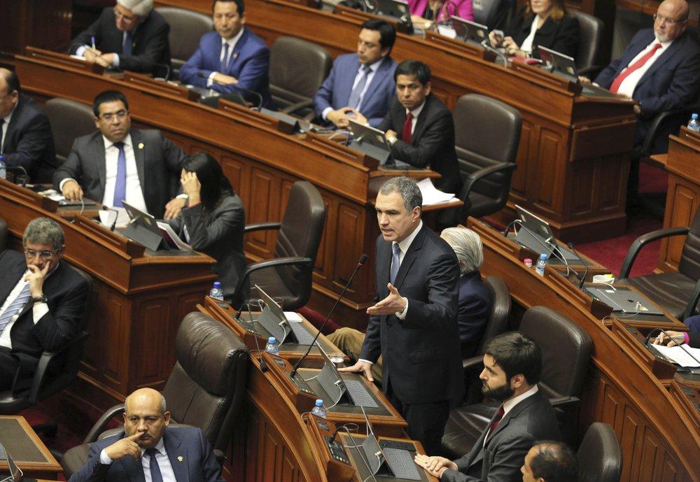 Peru's president orders congress dissolved