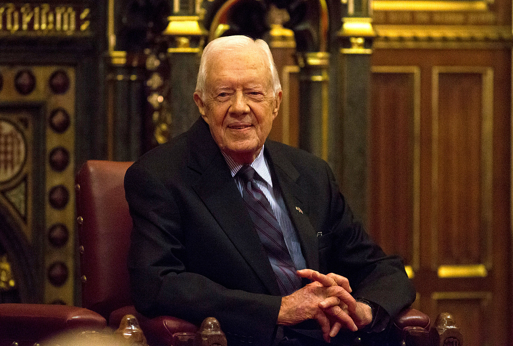 Former US president Carter sends congratulations on 70th anniversary of PRC's founding