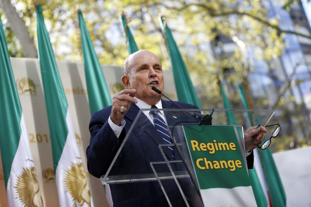 Democrats subpoena Giuliani for Ukraine files