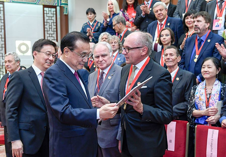 Foreign experts' support will not be forgotten: Chinese premier