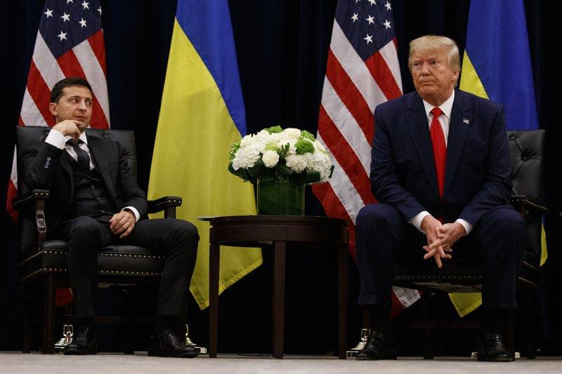 Ukraine's leader: We can't be ordered to investigate Biden