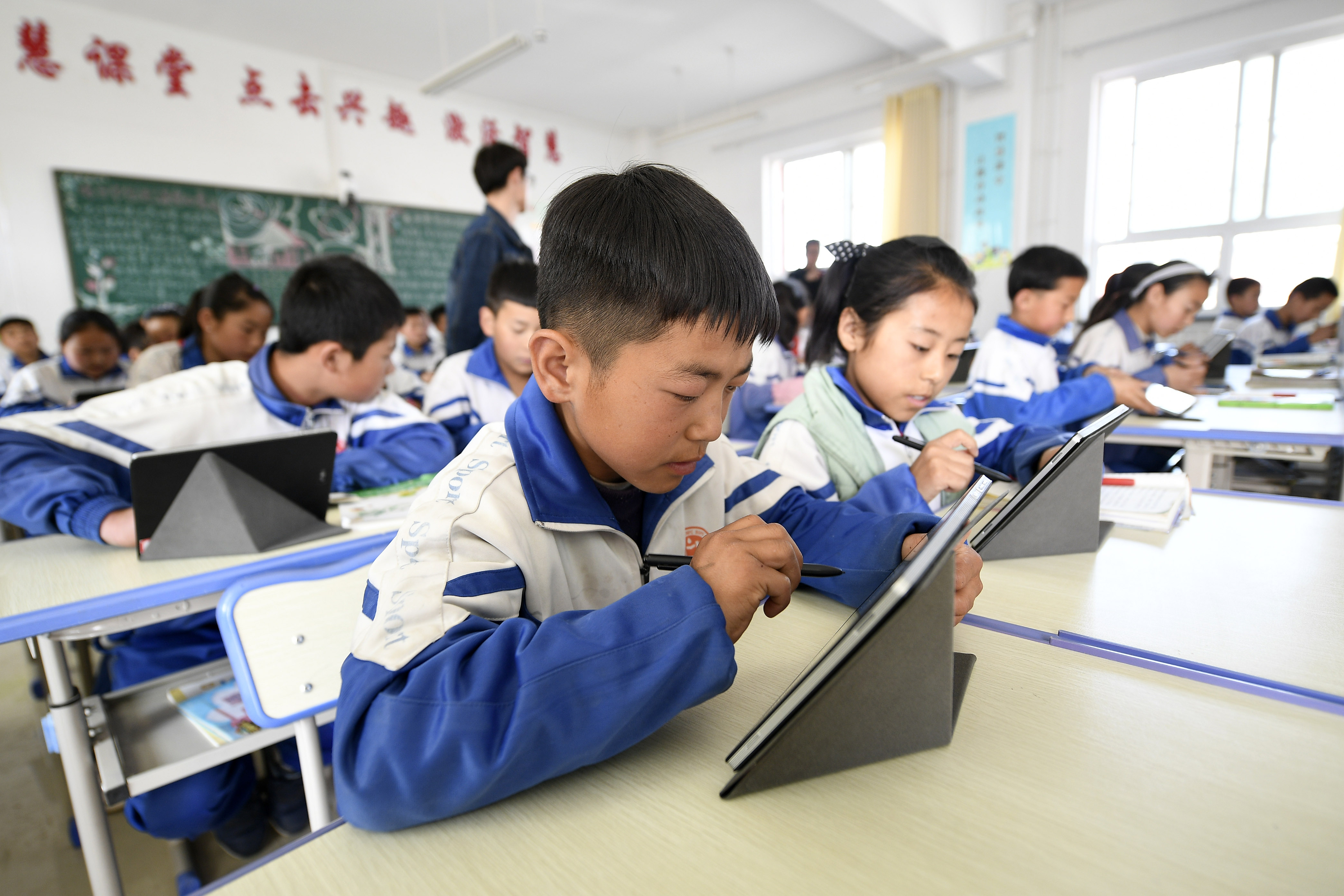 China to improve online education infrastructure