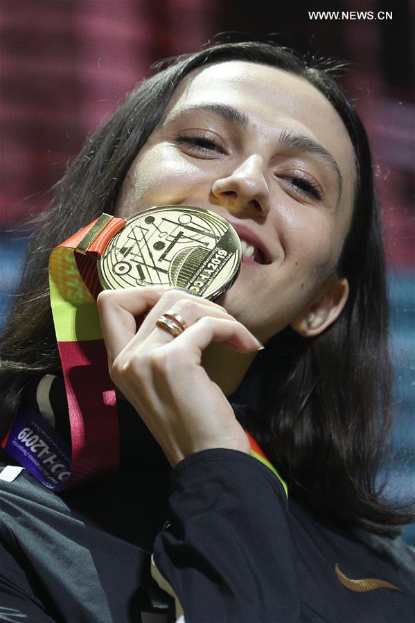 Highlights of awarding ceremony at 2019 IAAF World Athletics Championships in Doha