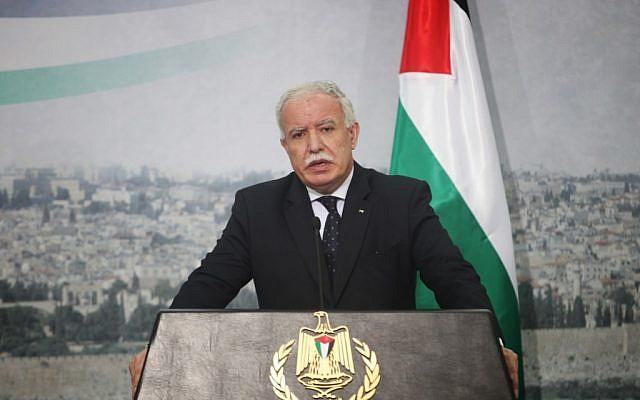 US, Israel seek destruction of refugee organization: Palestinian FM
